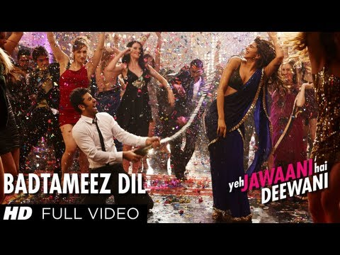 Video Badtameez Dil Full Song HD Yeh Jawaani Hai Deewani | Ranbir Kapoor, Deepika Padukone download in MP3, 3GP, MP4, WEBM, AVI, FLV January 2017