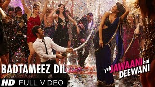 Video Badtameez Dil Full Song HD Yeh Jawaani Hai Deewani | Ranbir Kapoor, Deepika Padukone MP3, 3GP, MP4, WEBM, AVI, FLV Juli 2018