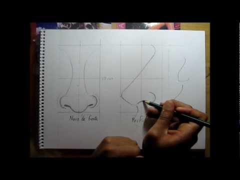 Curso de dibujo a lápiz cap. 10 (La nariz)