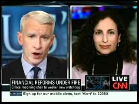 Melanie Sloan Discusses the House Financial Services Committee on AC360
