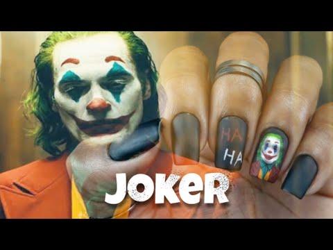 Uñas decoradas - Unhas decoradas Coringa - Joker Movie