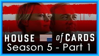 PART 2: https://youtu.be/lj6JNB7Tvb0Frank and Claire Underwood fight for self preservation in the new season of House of Cards. Season 4 was a return to form for the series after a disappointing season 3. How will the new season stack up?MY SEASON 4 REVIEW: https://youtu.be/MIWBqozPROY