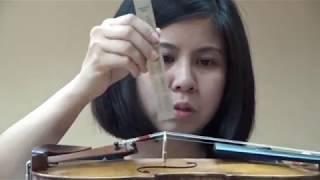Violin Bridge Position, Malaysia Sound Workshop part 3, bridge changes sound, violin sound improvement, violin sound workshop. violin sound adjustment, better violin sound, Daniel Violins, Daniel Olsen