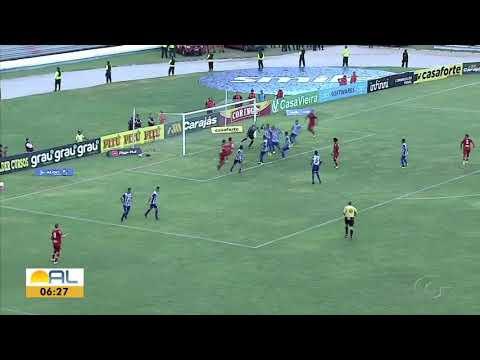 CSA 1 x 0 CRB - Final Jogo de Ida - Campeonato Ala...