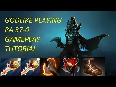 Dota 2 Gameplay: Phantom Assassin 37-0 !