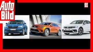 Zukunftsaussicht: SUV-Coupés von Skoda, Seat und VW by Auto Bild