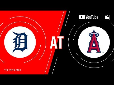 Video: Tigers at Angels | MLB Game of the Week Live on YouTube