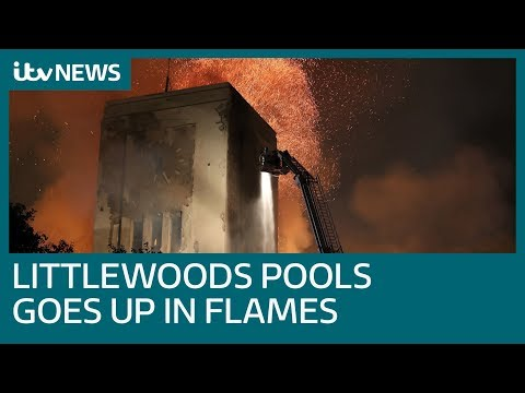 'Heartbreaking' Fire Engulfs Liverpool's Famed Littlewoods Pools Building | ITV News
