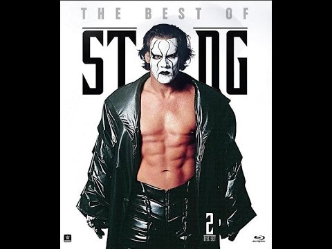 WWE Best Of Sting Bluray Pickup!!!!! (Pumped This Is Awesome!!)