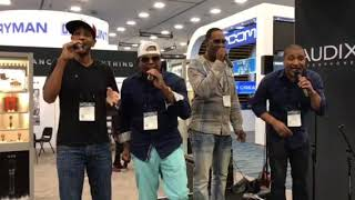 Az Yet performs at NAMM 2018 Becks Entertainment