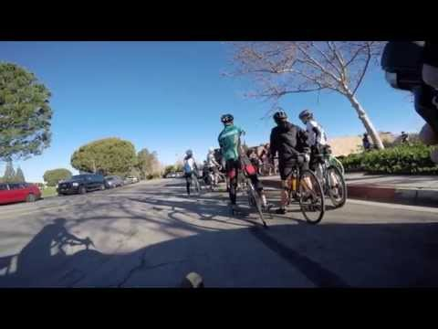 GoPro Bike Video at Santa Ana River Trail in Orange, California