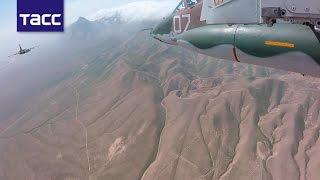 Военные РФ и Таджикистана провели совместные учения в горах
