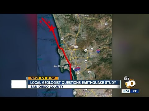 San Diego geologist questions earthquake study