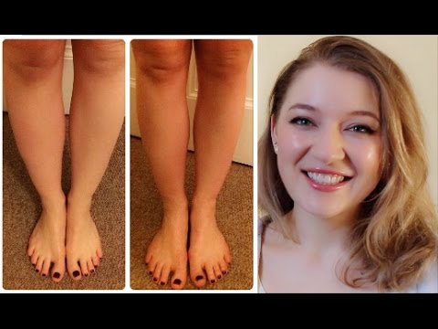 Slimmer Thighs And Calves With Lymphatic Leg Massage? IT WORKS! :D | Inner Thigh Slim Legs Massage