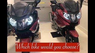 10. Review 2015 & 2018 BMW K1600 GT,