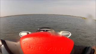 4. 2008 Seadoo RXT 215 top speed GPS June 18 2012 GoPro HD