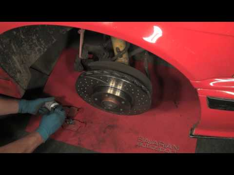 Replacing BMW/MINI Brake Pads