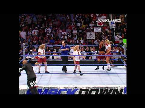 Schoolgirl Match On SmackDown September 23 2004