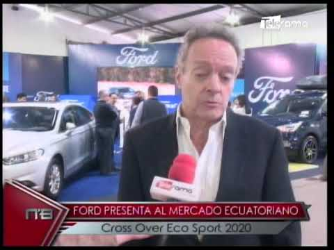 Ford presenta al mercado ecuatoriano Cross Over Eco Sport 2020