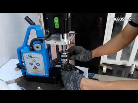 Hướng dẫn sử dụng máy khoan từ MDT55