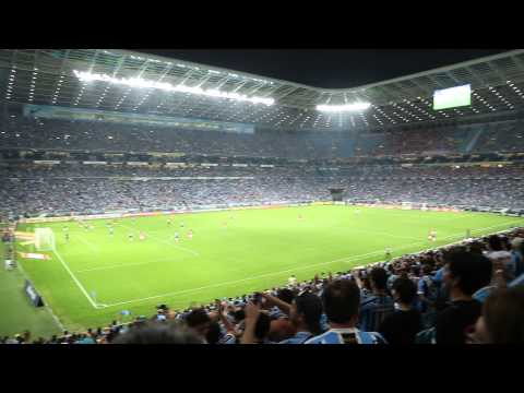Grêmio 5 x 0 Inter - Grenal 407 - Te dou a vida / Festa na Geral / Chegando a hora - Geral do Grêmio - Grêmio - Brasil - América del Sur