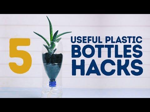 5 modi per riutilizzare una bottiglia