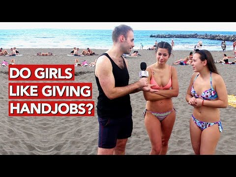 Do girls like giving handjobs? Valentines Special! (видео)