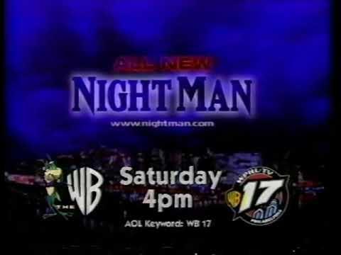 NightMan 1x18 Bad to The Bone Promo on Philadelphia's WB 17 WPHL (February 22,1998)