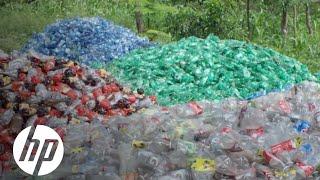 Ocean of Plastic: Closed-loop Recycling in Haiti | Reinvent Impact | HP