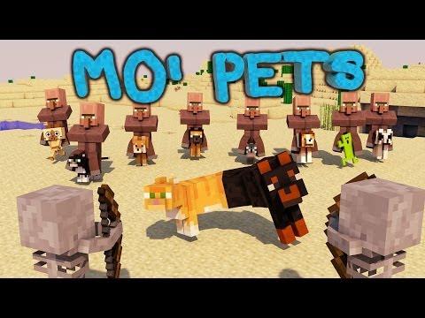 Minecraft   Mo' Pets Mod