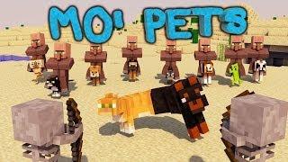 Minecraft | MO' PETS MOD Showcase! (Baby Pets, DogCatPlus, Minions)