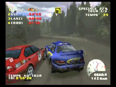 v rally 2 dreamcast cdi