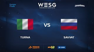 Turna vs Savvat, game 1