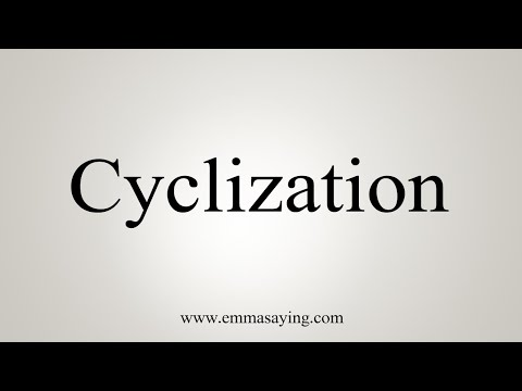 How To Say Cyclization