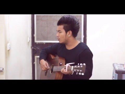 รักที่ไม่จริง Acoustic Cover By SN