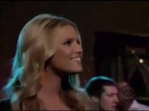 Jessica Simpson - Come On Over (Live @ Letterman) 2008