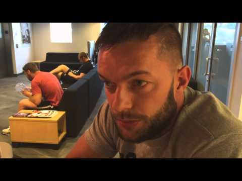 Training - Newly signed NXT Superstar Fergal Devitt discusses his first few weeks at the WWE Performance Center.