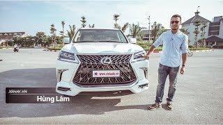 Lái thử bản Super Sport của Lexus LX570 giá 10 tỷ đồng |XEHAY.VN|
