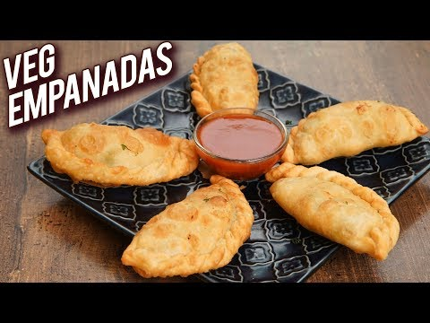 Veg Empanadas – How To Make Vegetarian EMPANADA – Veg Starters Recipe – Monsoon Recipes – Bhumika