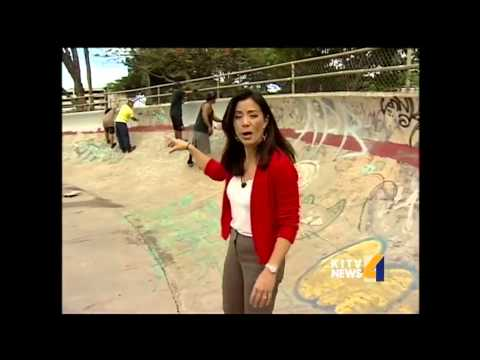 Aala skate park gets a makeover
