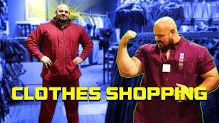 """Video TRYING TO FIND CLOTHES THAT FIT   6'8"""" 450LBS   BRIAN SHAW MP3, 3GP, MP4, WEBM, AVI, FLV Juni 2019"""