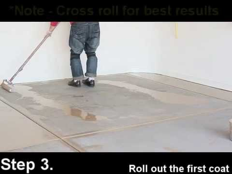 Slide-Lok's SLAC-27 - High gloss sealer - Cheap and Easy garage floor - DIY friendly