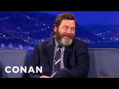 Nick Offerman Gives the Best, Manliest Dating Advice
