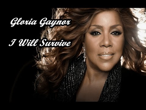 """i will survive"" 1978 - gloria gaynor"