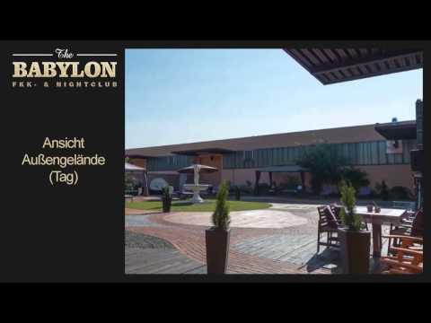 Impressionen des Babylon Aussengeländes bei Tag