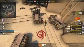 (RU) GG.BET Majestic || AVANGAR vs Team Spirit  map 1 || bo3 || @Toll_tv & @Norov_UCC