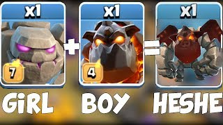 Video WHAT GENDER ARE THESE TROOPS?! | Clash Of Clans | Valentines day final MP3, 3GP, MP4, WEBM, AVI, FLV Februari 2018