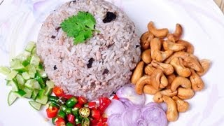 [Thai Food] Khao Phad Nam Liab (Fried Rice With Chinese Black Olives)