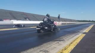 10. 2012 Yamaha Apex Turbo 5.15 @139 1/8 mile on asphalt