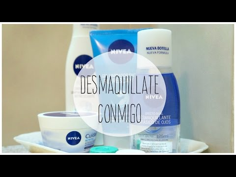RUTINA DE DESMAQUILLAJE / PRODUCTOS NIVEA
